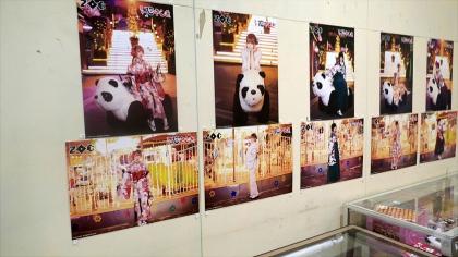 会場に展示されたパネル写真の数々